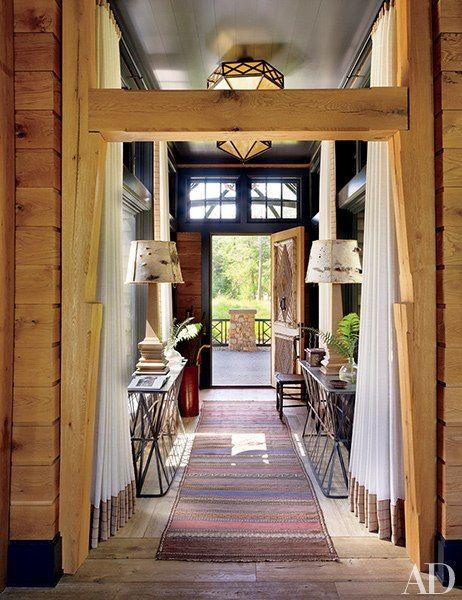 Sittig House   Former Wawbeek Resort On Upper Saranac Lake Tupper Lake, NY  Interiors: