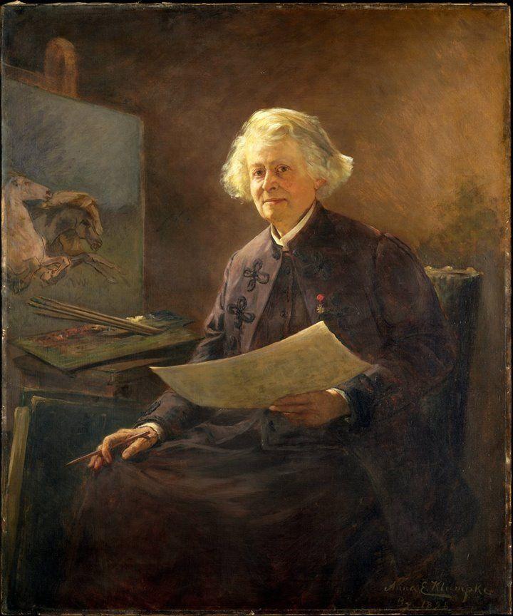 Anna Elizabeth Klumpke (American portrait and genre painter) 1856 - 1942 Rosa Bonheur, 1898