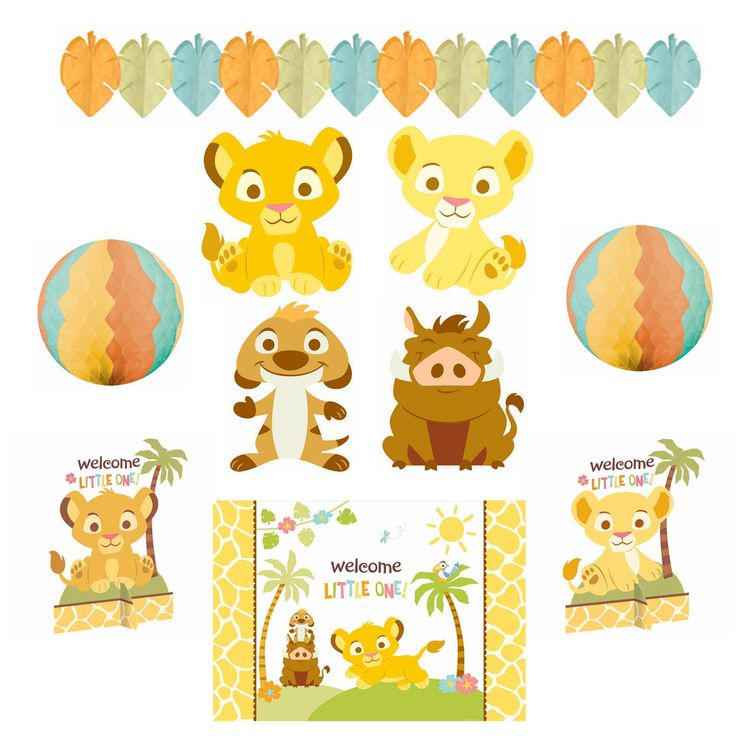 Baby Lion King Shower Décor Or For Room