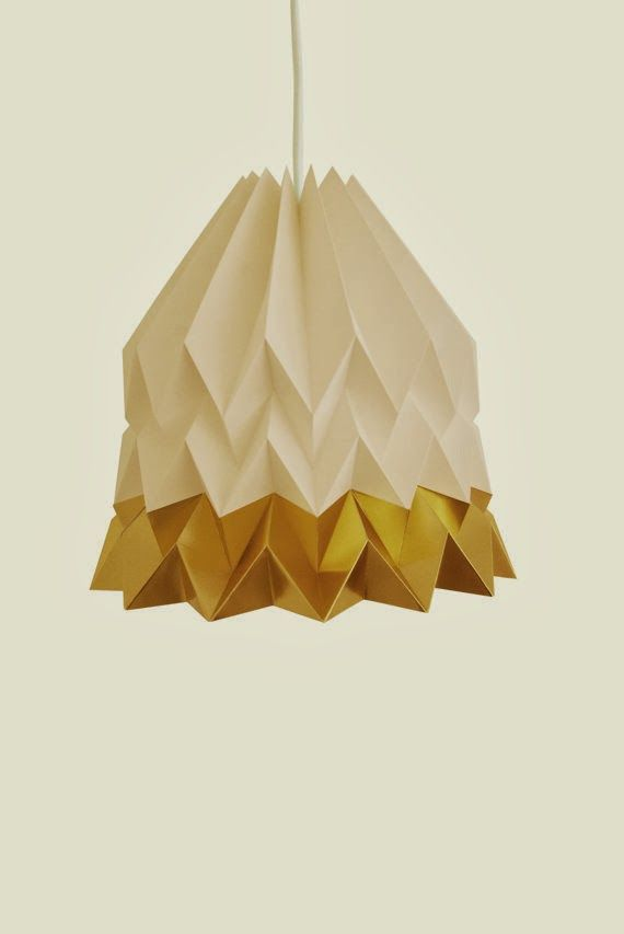 jocundist: orikomi | origami lighting