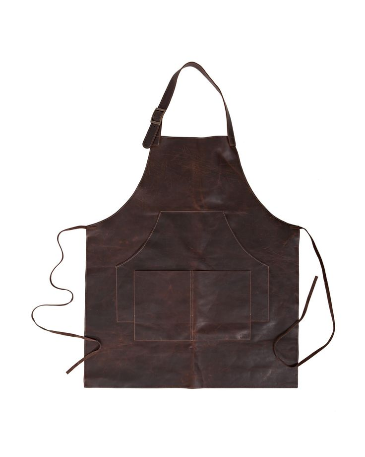 cool pocket design for men's apron