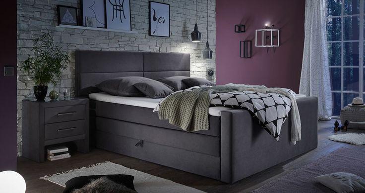 Nowoczesne łóżka kontynentalne z wezgłowiem - elegancja na najwyższym poziomie.  #łóżka #łóżkaboxpring #nowoczesnełóżka #łóżkazwezgłowiem #łóżkazzagłówkiem #łóżko
