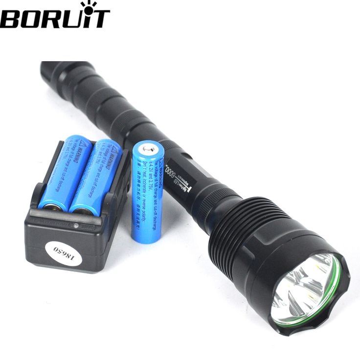 28.79$  Buy here  - 3T6 6000 Lumen Linternas 3 * LED Tactical Flashlight Torch Lampe Torche Camping torcia led + Rechargeable 18650 battery charger