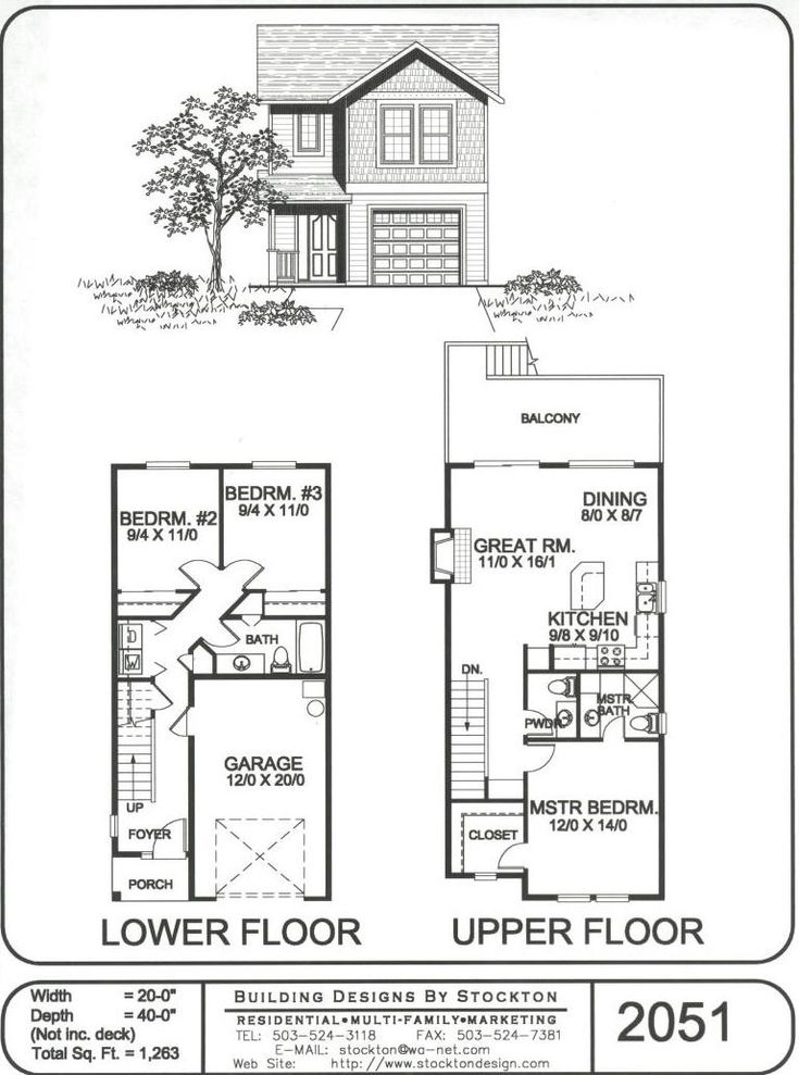 Different Idea With Two Bedrooms Downstairs Plans