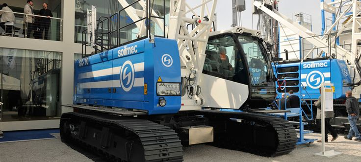 BAUMA 2013: A great success news Soilmec.  Soilmec customer and visitor response this year at Bauma, in Munich, has simply been outstanding. Our people were delighted with the quality and variety of the equipment on show and the exhibition project itself. And good business has been done.