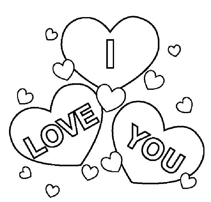 I Love You Coloring Pages To Print Super Coloring Pages Love