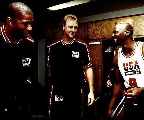 Jordan, Magic & Bird Dream Team 1992