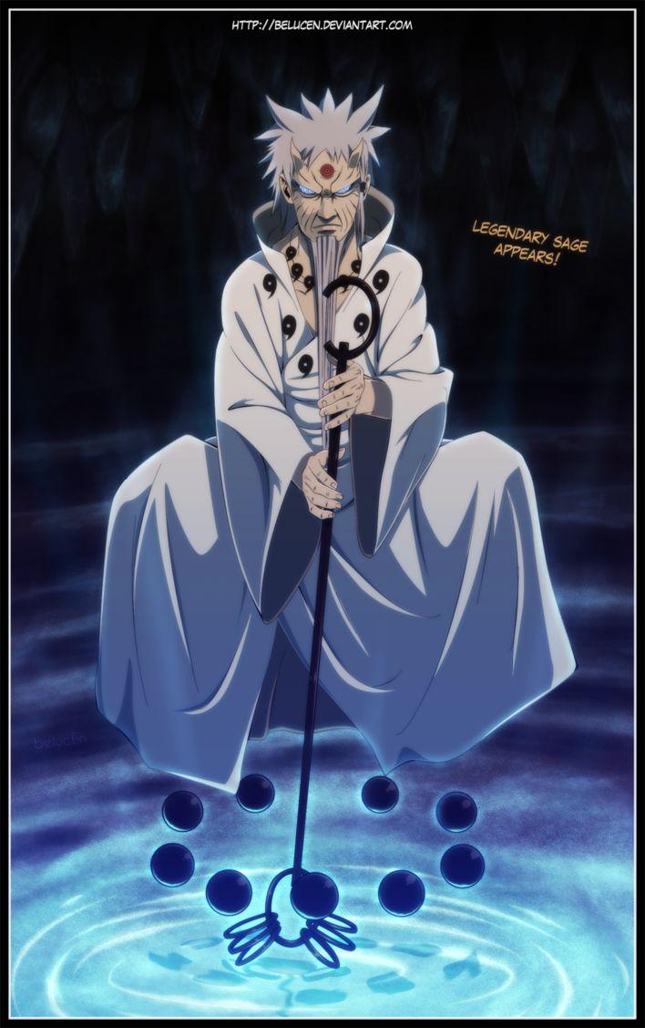 Naruto 671 - Hagoromo Otsutsuki by belucEn.deviantart.com on @DeviantArt