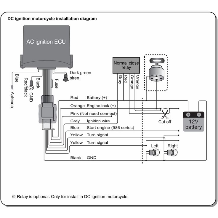 Motorcycle Alarm System Wiring Diagram Roc Grp Org At