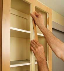 Tips For Installing New Cabinet Faces. The before and after pictures are stunning!