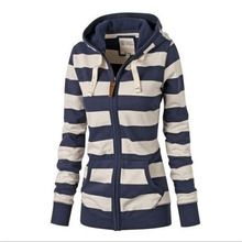 Like and Share if you want this  Women contracted zipper stripe long fleece     Tag a friend who would love this! For US $12.24    FREE Shipping Worldwide     Buy one here---> http://womensclothingdeals.com/products/women-contracted-zipper-stripe-long-fleece/