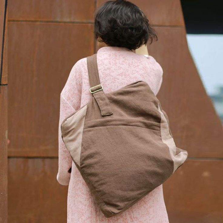 Casual Cotton Linen Shoulder Messenger Bag