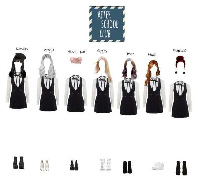 """""""[After School Club] The group with 7 different charms, Ice kiss! _ Full Episode - Ep.304"""" by official-icekiss ❤ liked on Polyvore featuring beauty, Topshop, Jeffrey Campbell, Maison Margiela and Charlotte Olympia"""