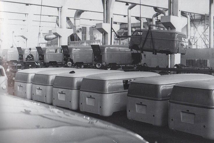 Wolfsburg armado de VW typ 2 entre 11.1950 y 04.1951 sin luneta trasera