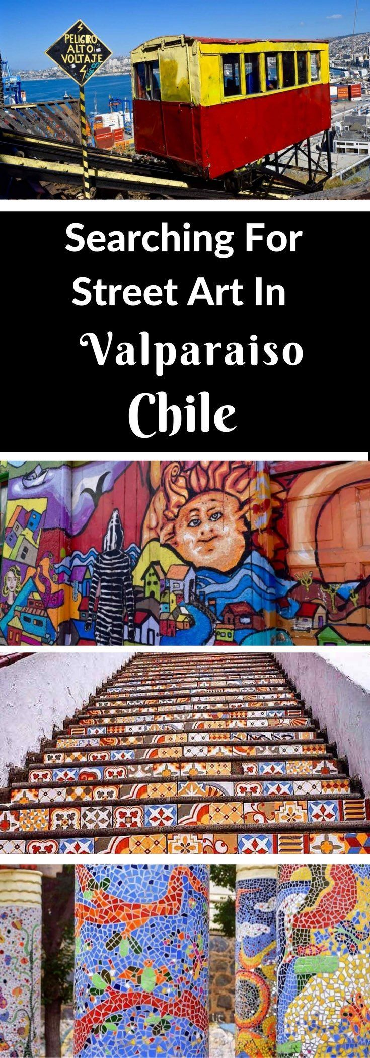 Searching For Street Art In Valparaiso, Chile. To learn more about #Valparaiso | #CasablancaValley click here: http://www.greatwinecapitals.com/capitals/valparaiso-casablanca-valley