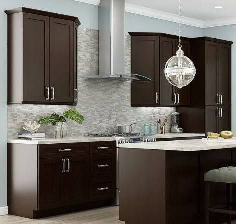 Kitchen Hardware That Looks Good With Espresso Cabinets
