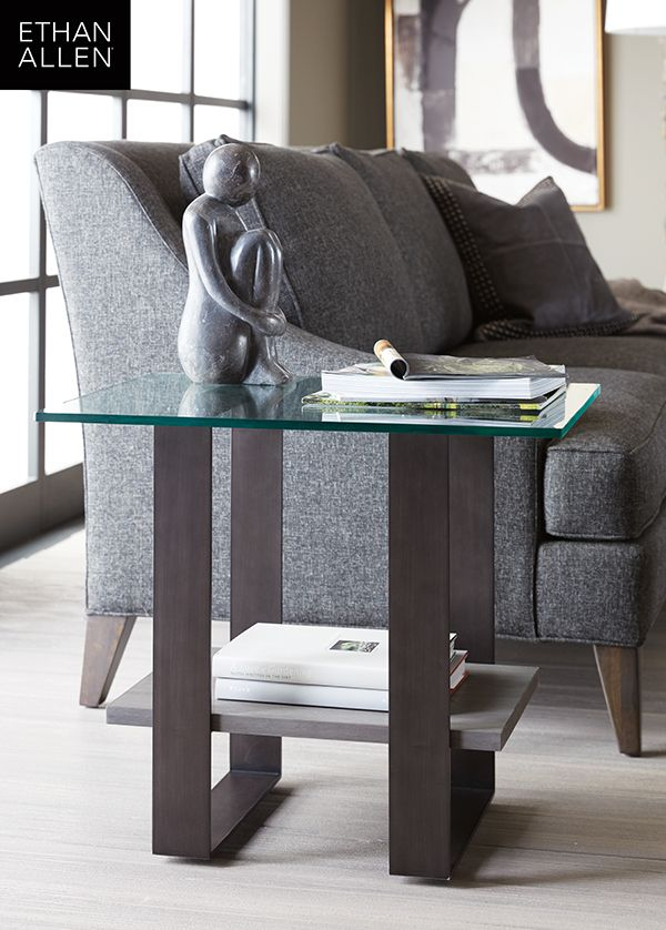 Rosemoor Contemporary Glass Top End Table Glass Top End Tables Cheap Home Decor End Tables
