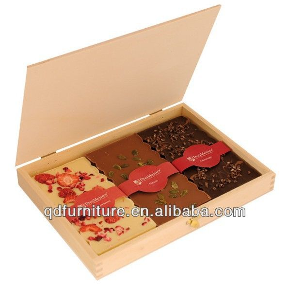 Chocolate Wooden Boxes Wholesale  1. Environment Friendly,  2. Print or carve logo   3. customer design accept