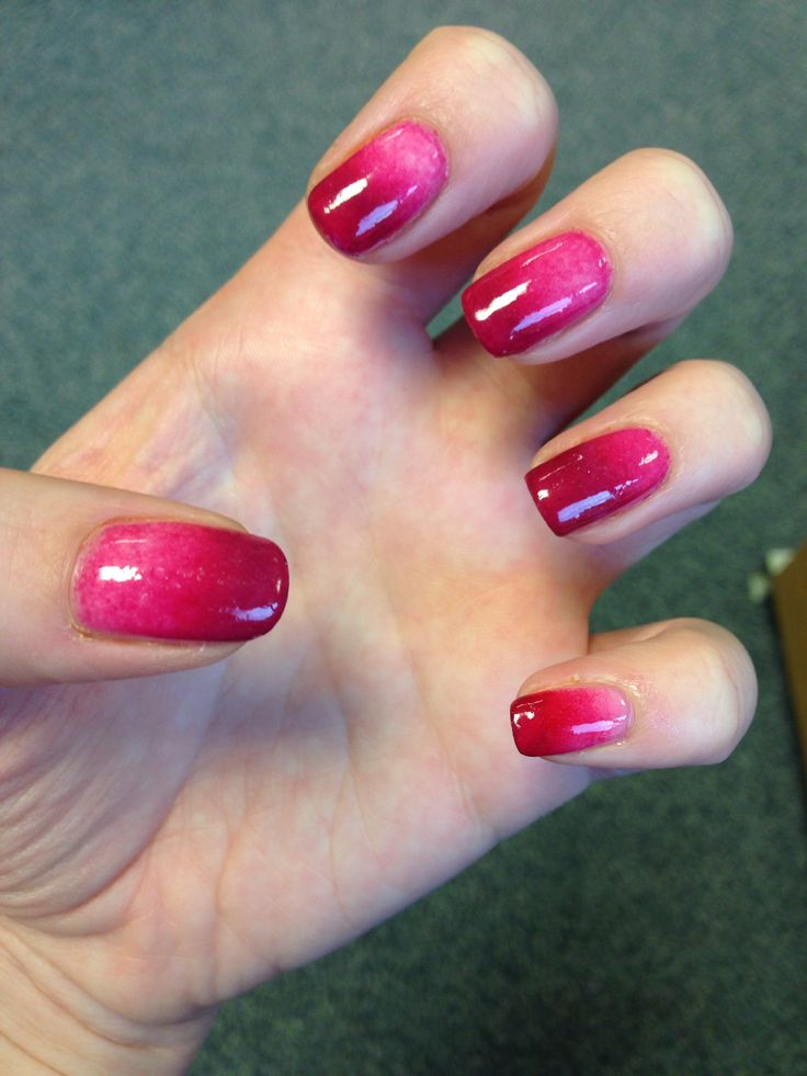 Best 25+ Red Ombre Nails Ideas On Pinterest