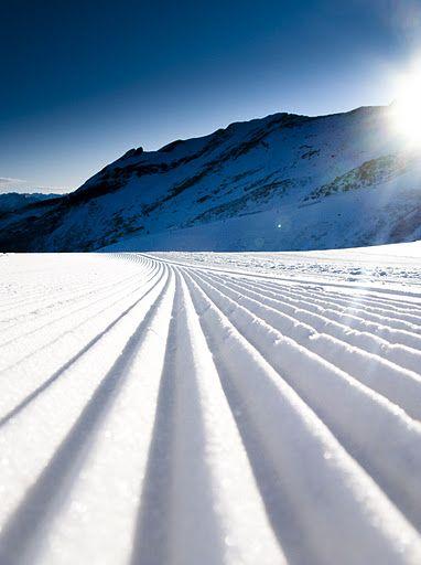 Fresh #snow # ski