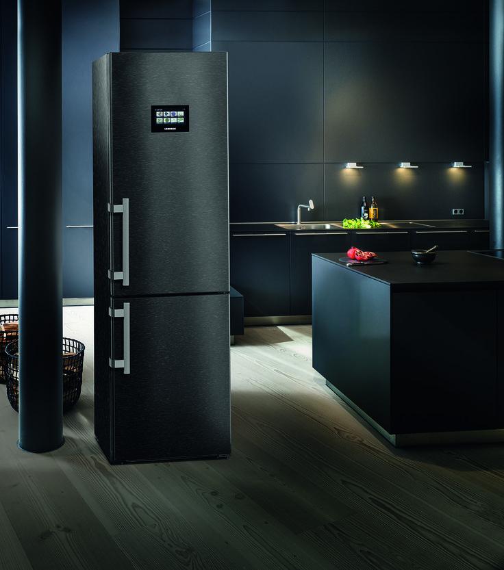 Liebherr Blacksteel koel/vriescombinatie CBNPbs 4858 Premium
