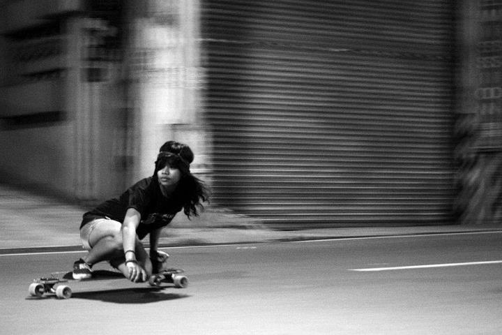 Long boarding is a way for me to forget about the troubles of life, at least for a little while.