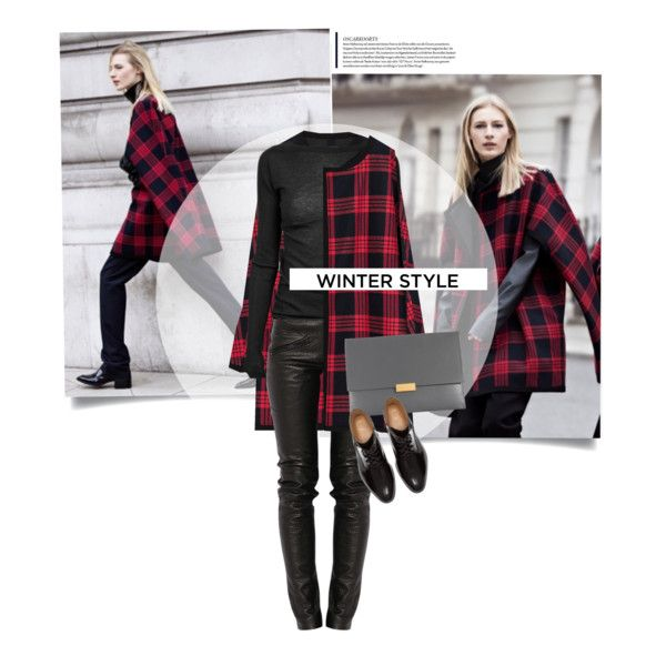 love this! the tartan coats is perfect to bring it all together! #outfits #winter #fashion
