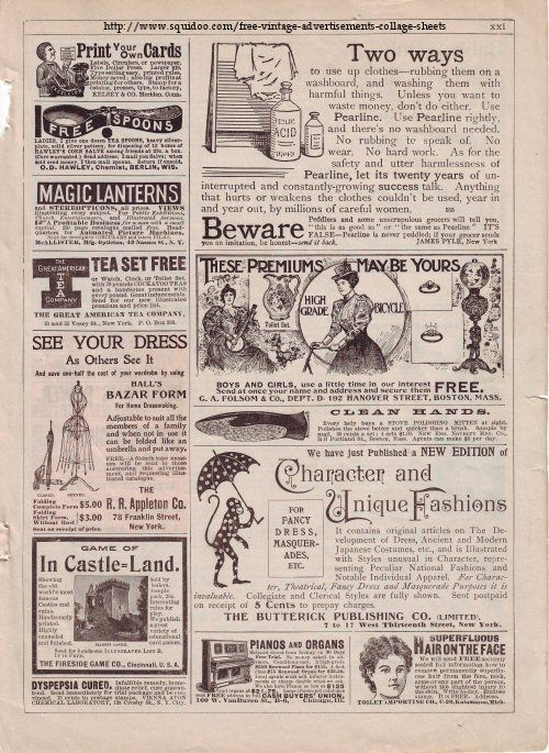 Vintage Advertisements Free Digital Collage Sheets Amazing collection of pages