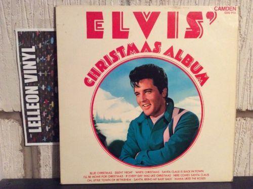 Elvis Presley Elvis' Christmas Album LP Album Vinyl Record CDS1155 Rock N Roll Music:Records:Albums/ LPs:Rock:Elvis