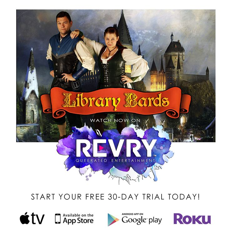 Library Bards is now on REVRY! https://revry.vhx.tv/the-library-bards