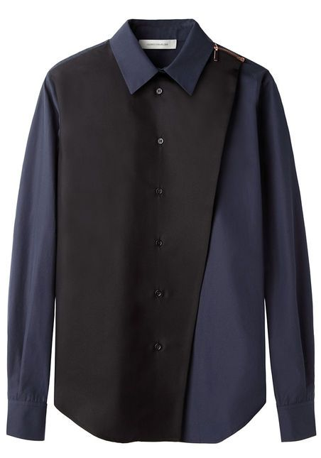 Zipper Button Up Top by Cédric Charlier