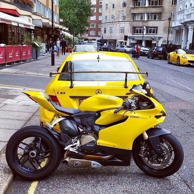 Sexiest bike ever in the sexiest, most confident colour ever! Ducati 1199 Panigale