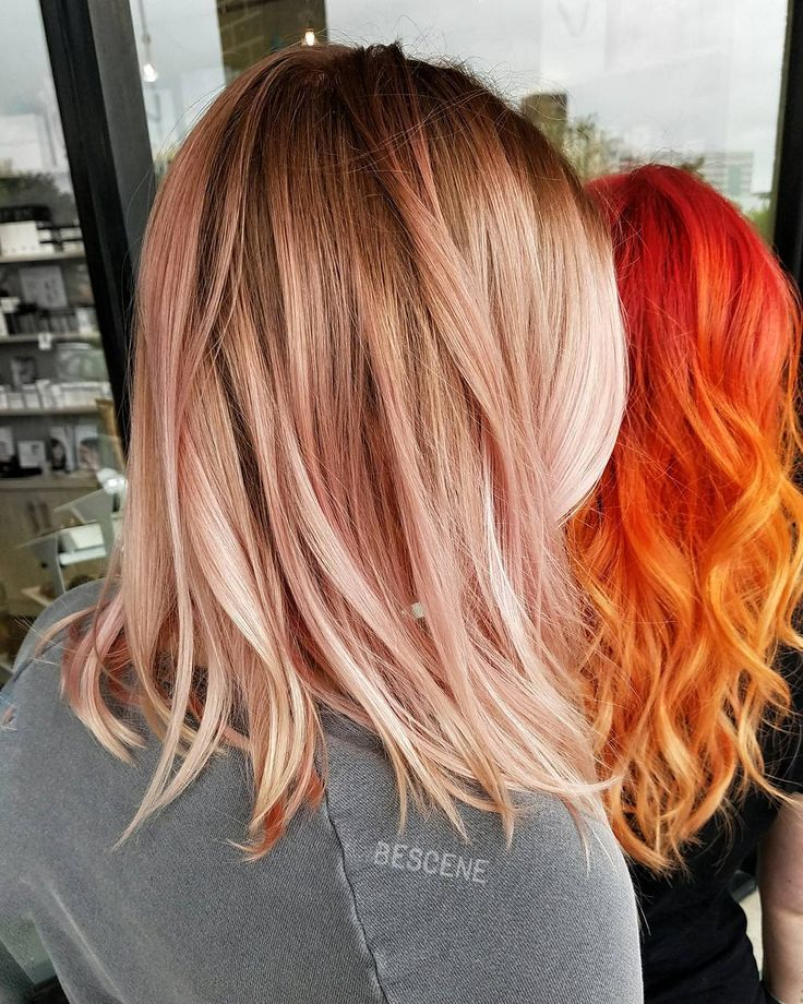 ROSE GOLD  VS FIRE  HAIR                                                                                                                                                                                 More