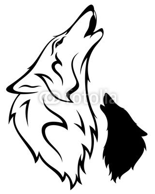 34 best cartoon wolf tattoo designs images on pinterest tattoo designs wolf tattoo design and. Black Bedroom Furniture Sets. Home Design Ideas