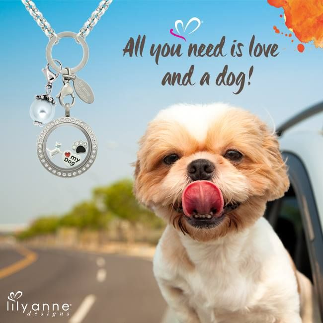 All you need is love and a dog! :) #LoveMyDog #LilyAnneDesigns