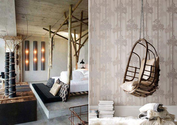 Дизайн интерьера в эко стиле