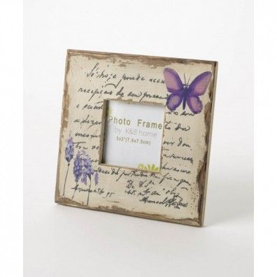 Sweet picture frame with butterfly