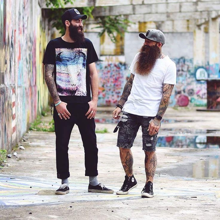 """bearditorium: """"Clay & Brandon """" Scroll down to see hundreds and hundreds of bearded men. Follow BEARD GUY to see all my updates. Bugsy99"""