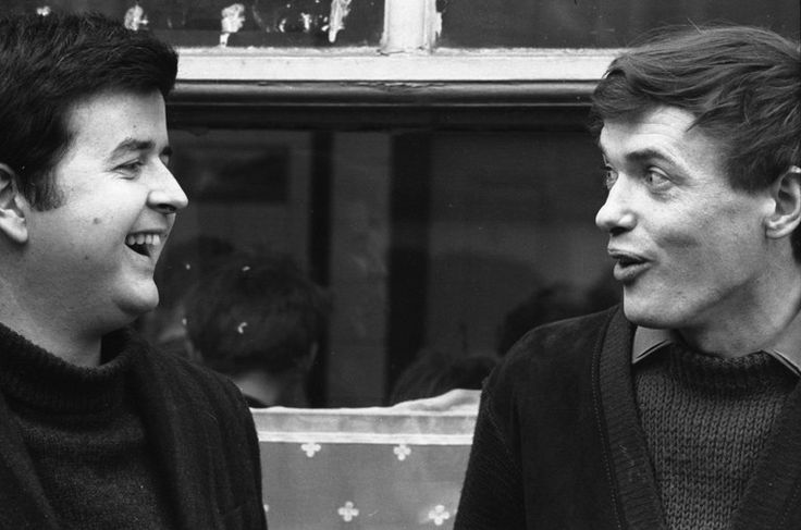 Rodney Bewes as Bob Ferris and James Bolam as Terry Collier, The Likely Lads, 1964.