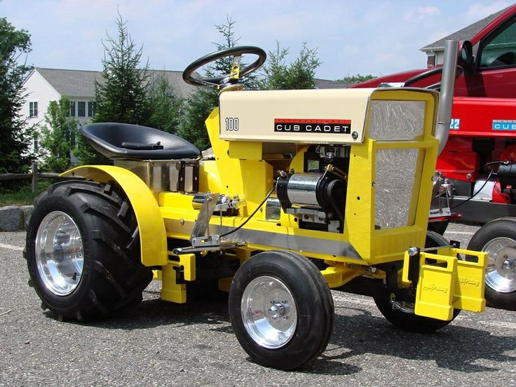 Cub Cadet 124 Pulling Tractor : Ideas to try about cub cadet gardens tractor