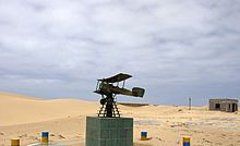 A monument in Tarfaya, Cape Juby, Morocco, commemorating Aéropostale's mail stopover station and Saint-Exupéry, its manager