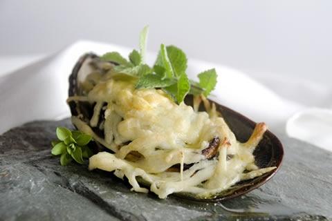 Parmesan mussel