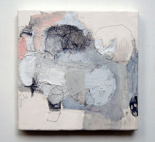 Wata'ame (2011) Mayako Nakamura Oil on canvas, pigment, charcoal, graphite 180x180mm