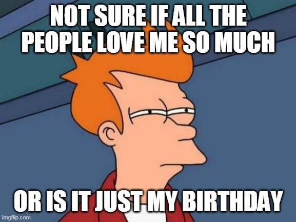 Love U Happy Birthday Meme Happy Birthday Meme Birthday Quotes Funny Happy Birthday Quotes Funny