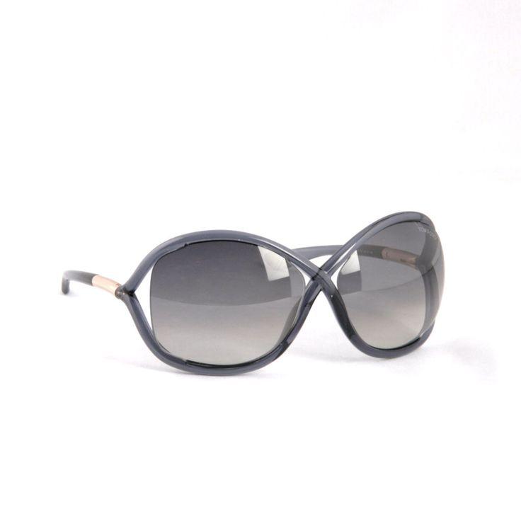 TOM FORD -Whitney FT009 OB5 GREY GRADIENT Sunglasses