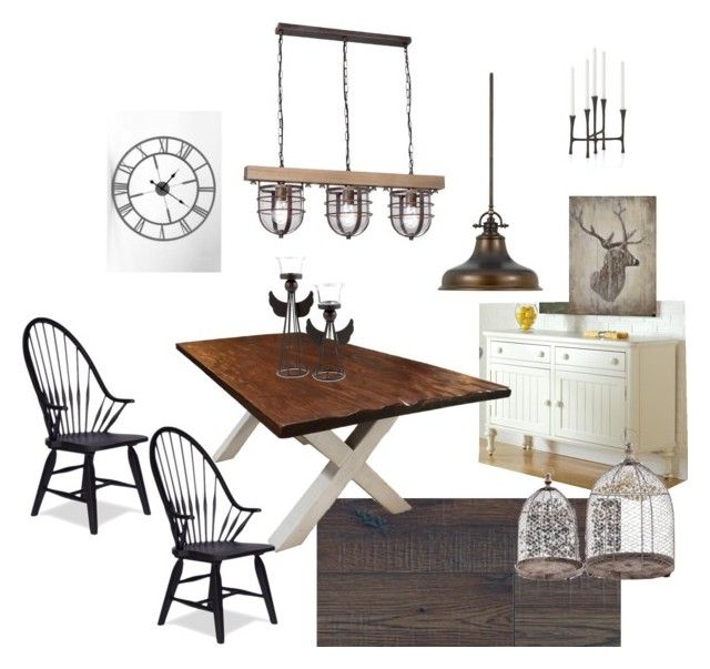 Rusztikus étkező by zs-salamon on Polyvore featuring interior, interiors, interior design, home, home decor, interior decorating and Crate and Barrel:
