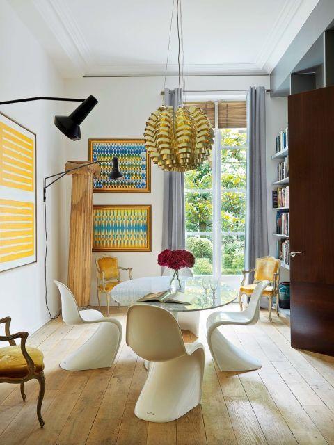 This Art Filled Parisian Apartment is Everything!- design addict mom