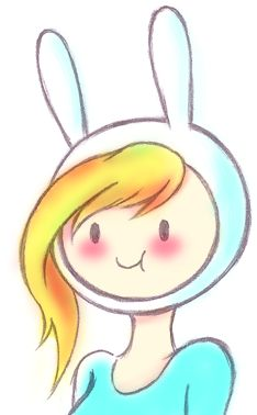 Fionna~ adventure time!