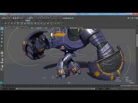 Maya Monday - Baking Dynamics to Joints - YouTube