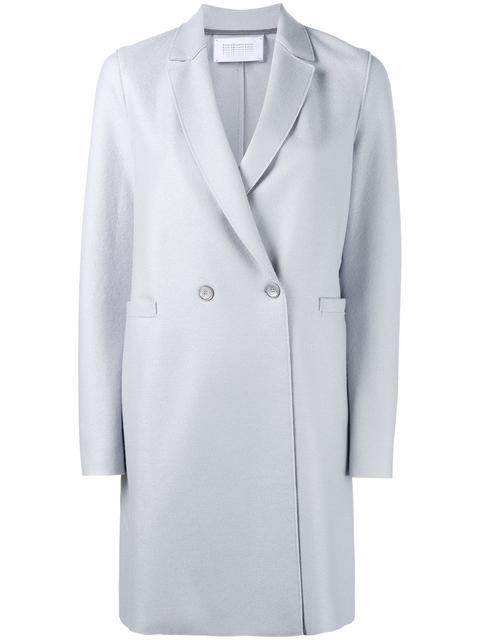 HARRIS WHARF LONDON double-breasted coat. #harriswharflondon #cloth #coat